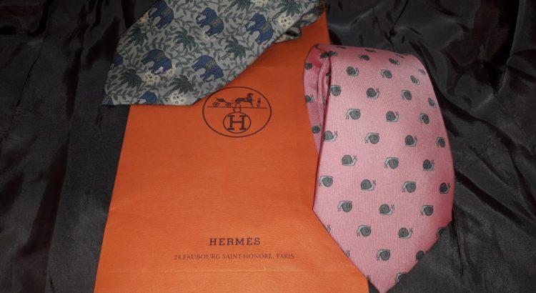 cravatte hermes