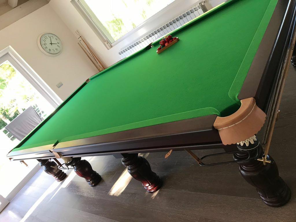 Tavolo da biliardo snooker affare fatto l 39 usato di moda - Misure tavolo da biliardo ...