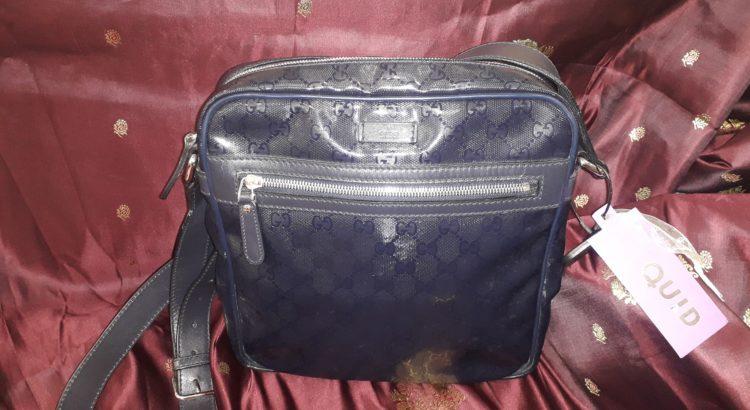 borsa tracolla gucci blu