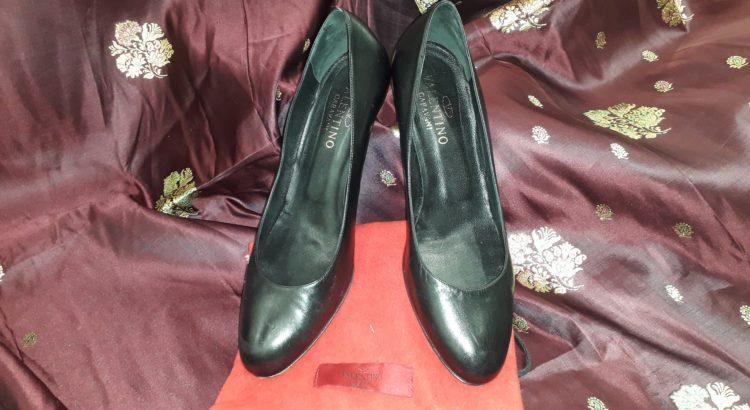 scarpe con tacco valentino
