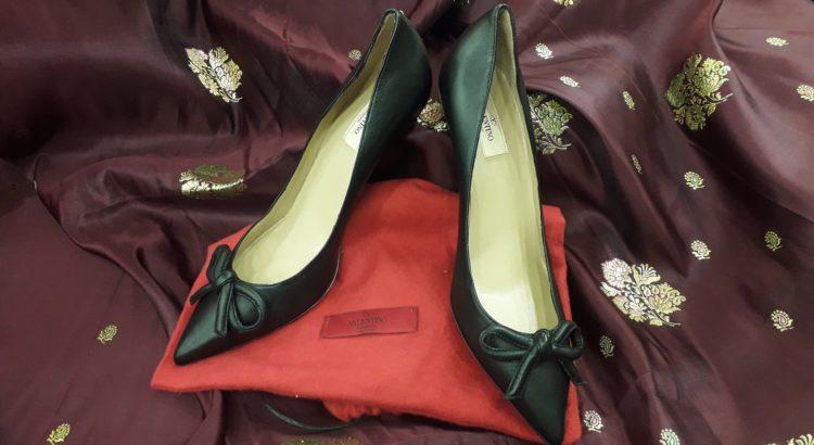 scarpe valentino con tacco