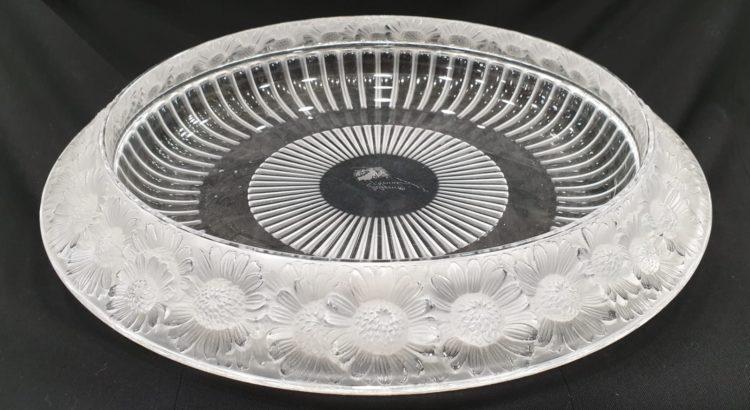 centrotavola Lalique circolare