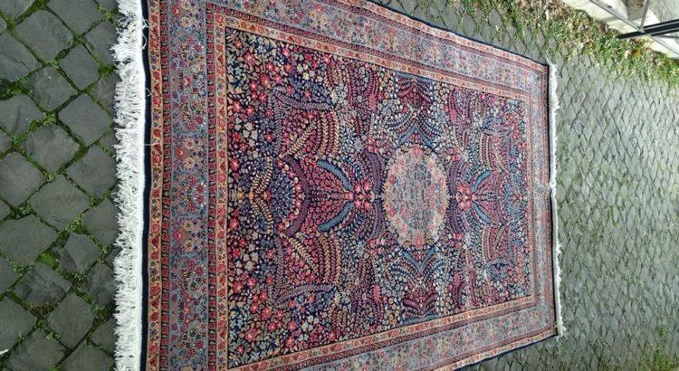tappeto blu 285x185